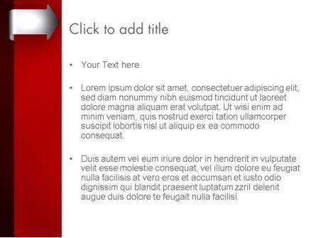 Arrow Tab PowerPoint Template, Slide 3, 12461, Business — PoweredTemplate.com