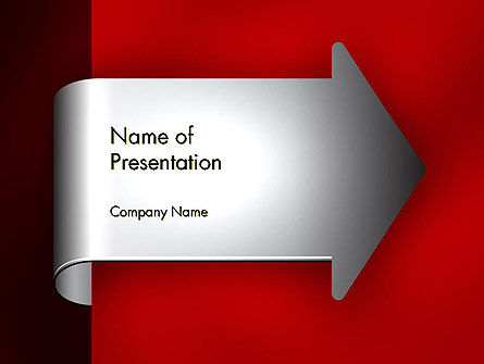 Arrow Tab PowerPoint Template