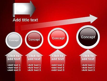 Arrow Tab PowerPoint Template Slide 13