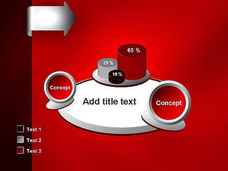 Arrow Tab PowerPoint Template Slide 16