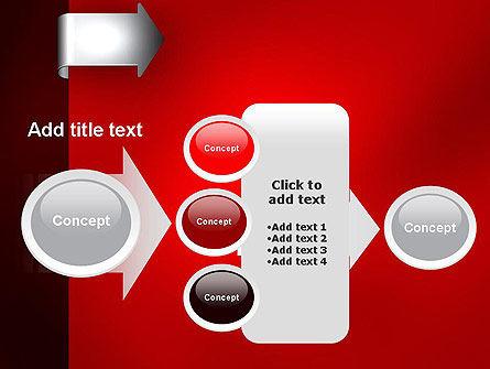 Arrow Tab PowerPoint Template Slide 17