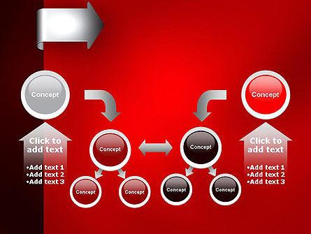 Arrow Tab PowerPoint Template Slide 19