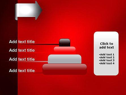 Arrow Tab PowerPoint Template Slide 8