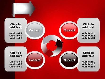 Arrow Tab PowerPoint Template Slide 9