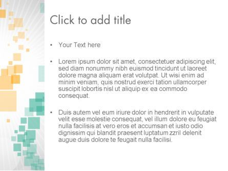 Abstract Geometric Squares PowerPoint Template, Slide 3, 12462, Abstract/Textures — PoweredTemplate.com