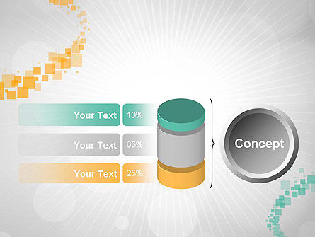 Abstract Geometric Squares PowerPoint Template Slide 11