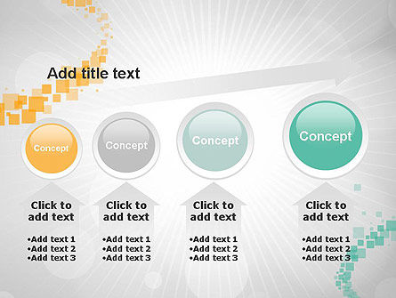Abstract Geometric Squares PowerPoint Template Slide 13