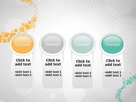 Abstract Geometric Squares PowerPoint Template Slide 5