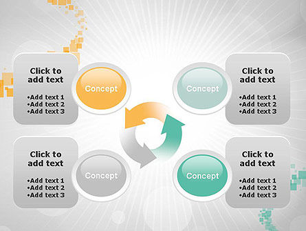 Abstract Geometric Squares PowerPoint Template Slide 9