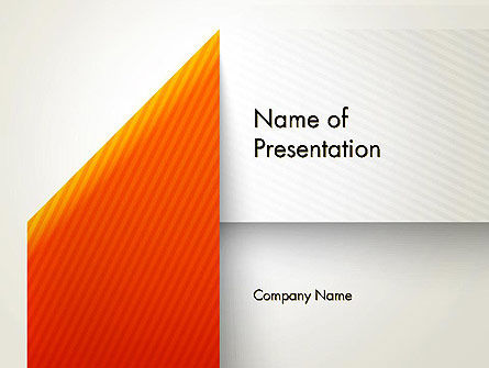 Folded Banner PowerPoint Template