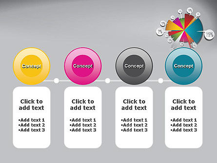 Pie Chart with Labels PowerPoint Template Slide 5