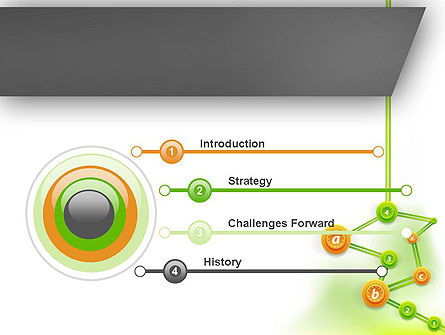 Chronological Tree PowerPoint Template Slide 3