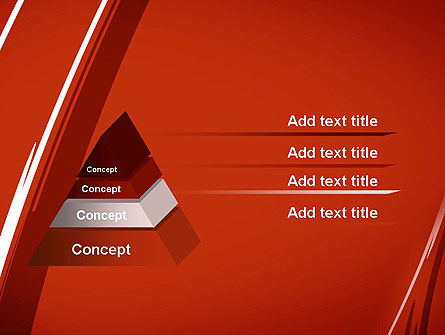 Abstract Red Smudges PowerPoint Template Slide 12