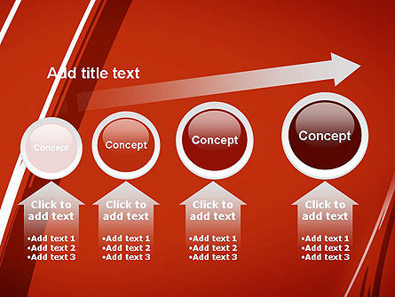 Abstract Red Smudges PowerPoint Template Slide 13