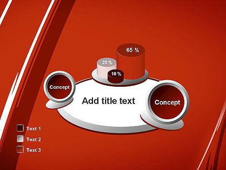 Abstract Red Smudges PowerPoint Template Slide 16