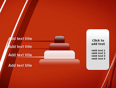 Abstract Red Smudges PowerPoint Template Slide 8