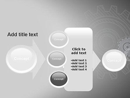 Mechanical Gears Draft PowerPoint Template Slide 17