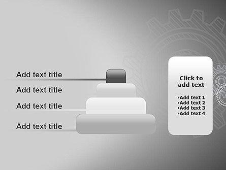 Mechanical Gears Draft PowerPoint Template Slide 8