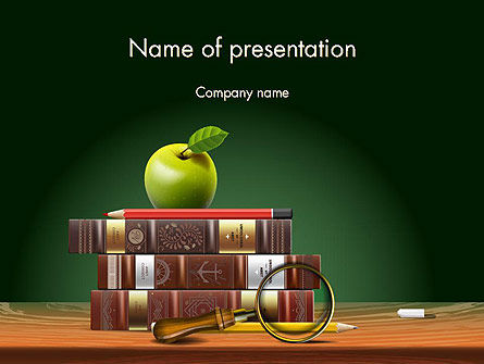 Back to School Education Theme PowerPoint Template