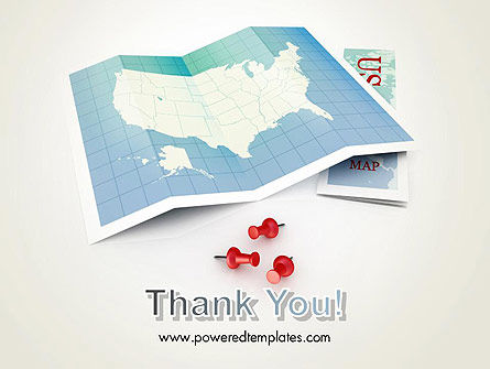 USA Map Locations PowerPoint Template Slide 20