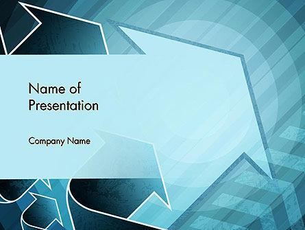 Growing Up Concept PowerPoint Template, 12475, Business Concepts — PoweredTemplate.com