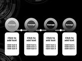 Abstract Technology Circles PowerPoint Template#5