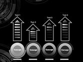 Abstract Technology Circles PowerPoint Template#7