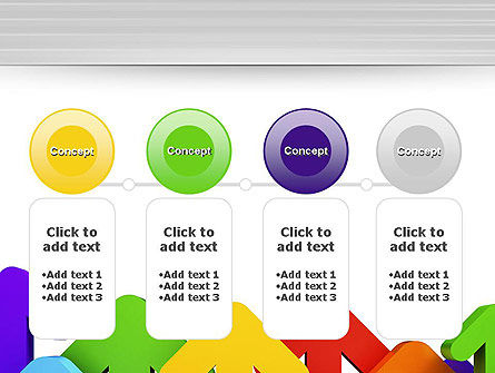 Up Arrows PowerPoint Template Slide 5