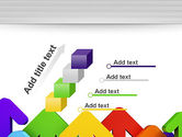 Up Arrows PowerPoint Template#14
