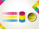 Abstract Colorful Geometric PowerPoint Template#11
