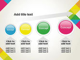 Abstract Colorful Geometric PowerPoint Template#13