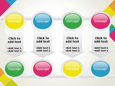 Abstract Colorful Geometric PowerPoint Template#18