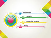 Abstract Colorful Geometric PowerPoint Template#3