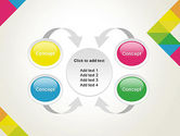 Abstract Colorful Geometric PowerPoint Template#6