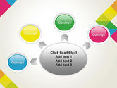 Abstract Colorful Geometric PowerPoint Template#7