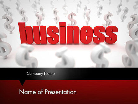 Growing Up Business Concept PowerPoint Template