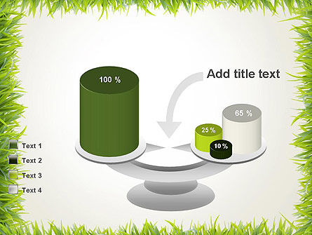 Grass Frame PowerPoint Template Slide 10