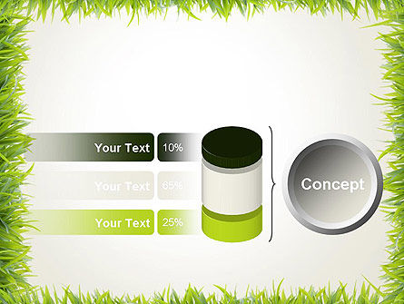 Grass Frame PowerPoint Template Slide 11