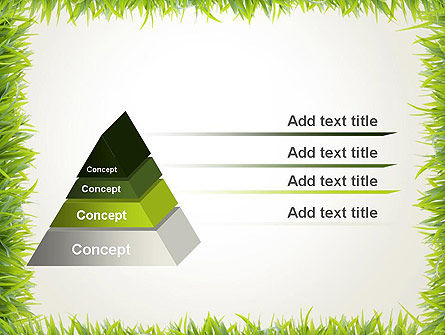 Grass Frame PowerPoint Template Slide 12