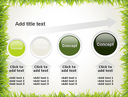 Grass Frame PowerPoint Template Slide 13