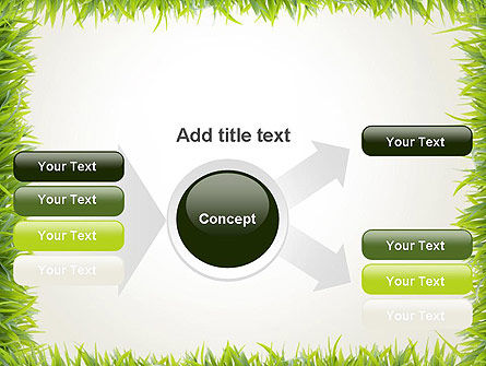Grass Frame PowerPoint Template Slide 14