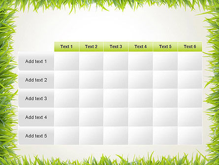 Grass Frame PowerPoint Template Slide 15