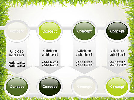 Grass Frame PowerPoint Template Slide 18