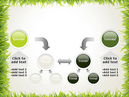 Grass Frame PowerPoint Template Slide 19