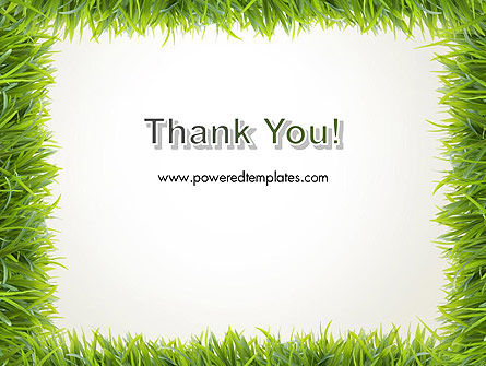 Grass Frame PowerPoint Template Slide 20