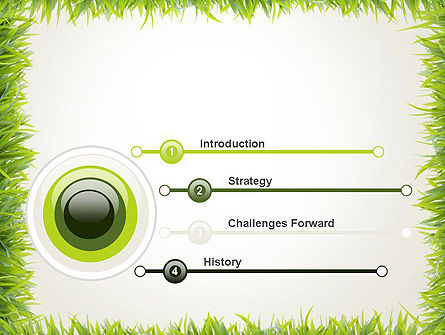 Grass Frame PowerPoint Template Slide 3