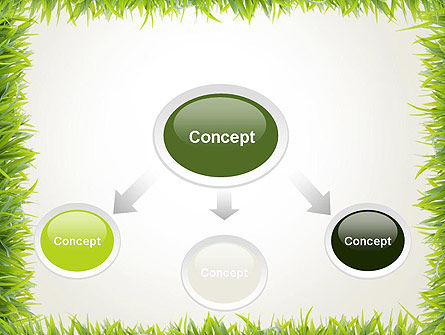 Grass Frame PowerPoint Template Slide 4