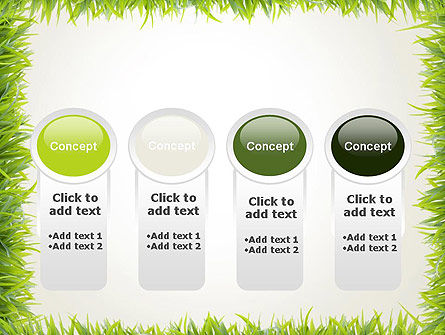 Grass Frame PowerPoint Template Slide 5