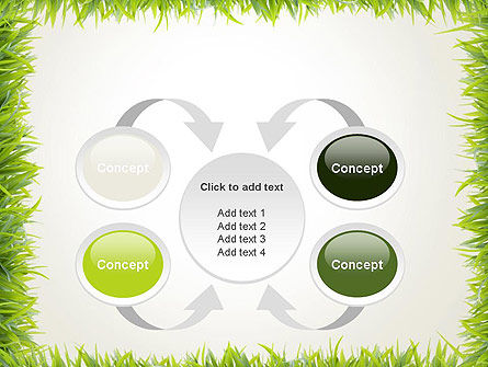 Grass Frame PowerPoint Template Slide 6