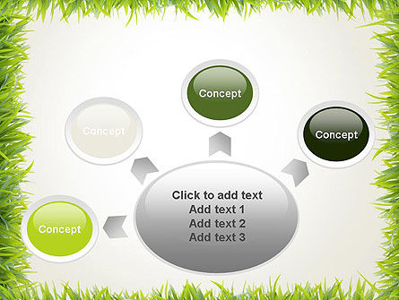 Grass Frame PowerPoint Template Slide 7